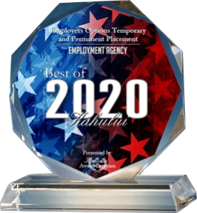 Employers Options - Best of 2020 Employment Agency - Offers Direct Hire Placement in Hawaii