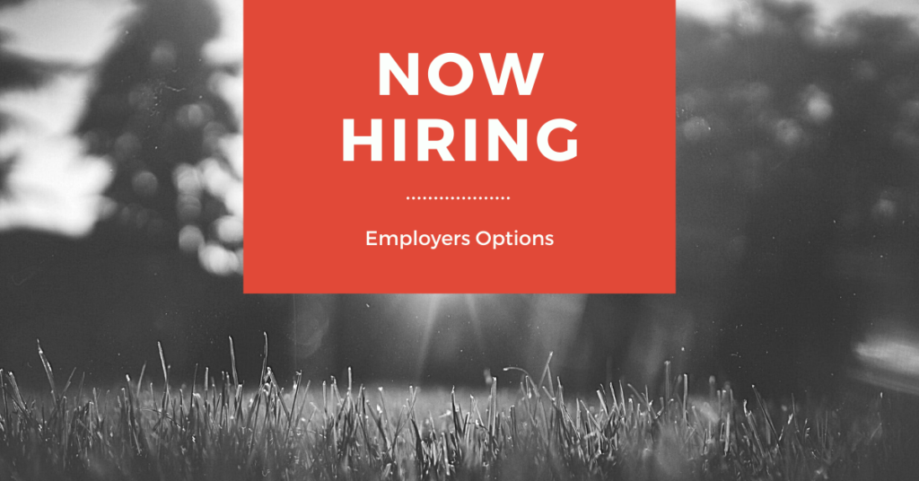 Employment Application for Employers Options